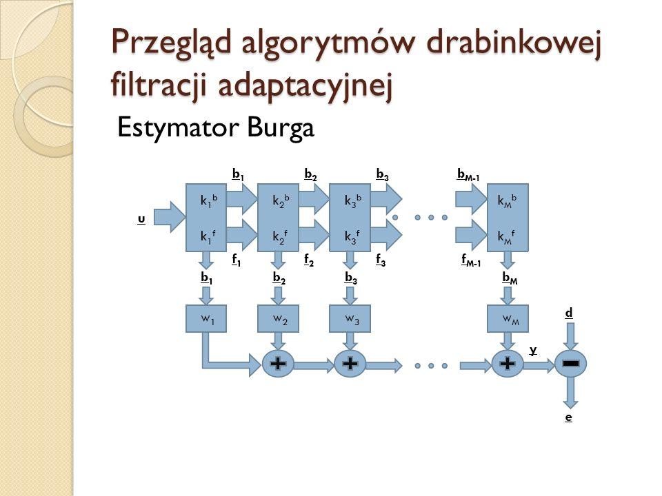 Poszczególne etapy pracy Skrypty programu MATLAB Cel Sprawdzenie poprawności implementacji algorytmów filtracji adaptacyjnej Łatwość modyfikacji algorytmów i testowania wyników