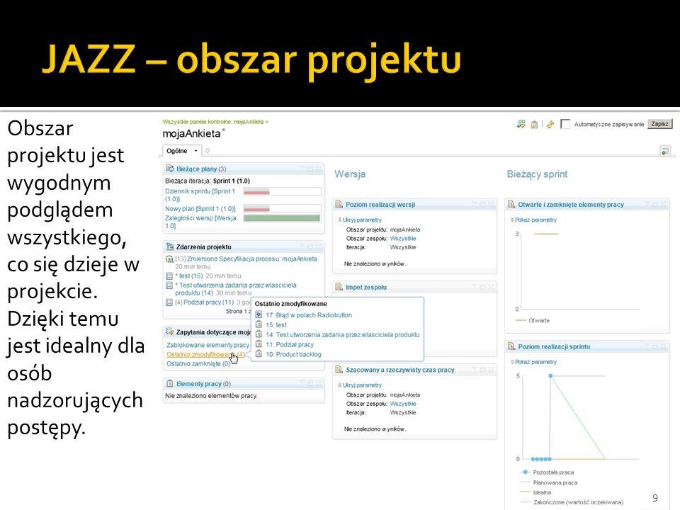 20 Podział klas na 3 główne grupy: Interfejsy użytkownika Elementy realizujące funkcje systemu Elementy gromadzące informacje