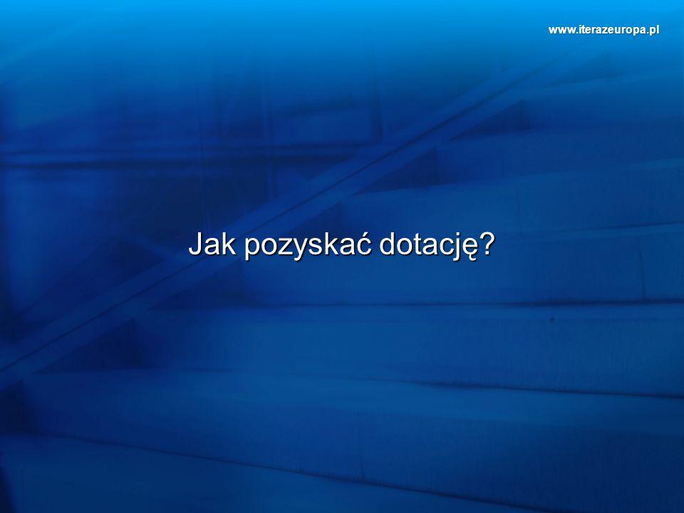 www.iterazeuropa.pl Jak pozyskać dotację?