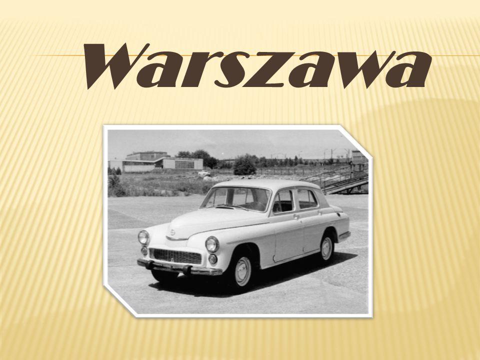 Pierwsze Warszawy wyjechały z Fabryki Samochodów Osobowych (FSO) na Żeraniu 6 listopada 1951r.