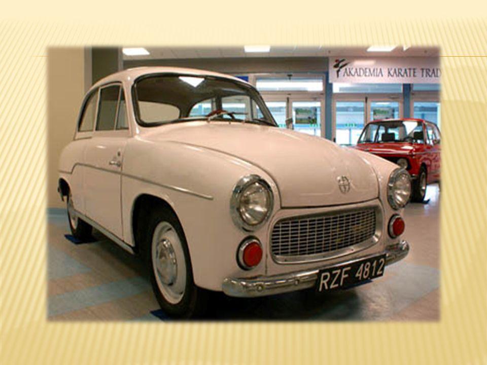 W połowie lat 50 powstało zapotrzebowanie na samochód dostawczy o niewielkiej ładowności.