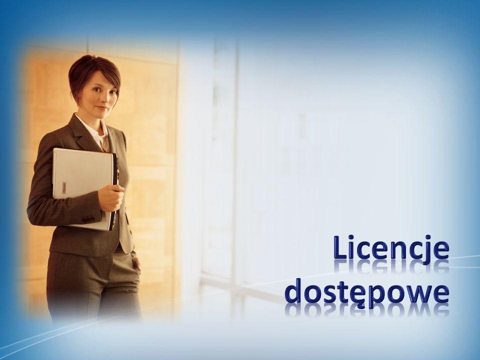 Aplikacja serwerowa Tylko jedna wersja serwera Tylko jedna wersja serwera (brak wersji Standard i Enterprise – zmiana od wersji 2010) Licencje wymagane tylko dla roli Front-End Licencje wymagane tylko dla roli Front-End (zmiana od wersji 2010) Pozostałe role bezpłatnie Pozostałe role bezpłatnie (zmiana od wersji 2010)