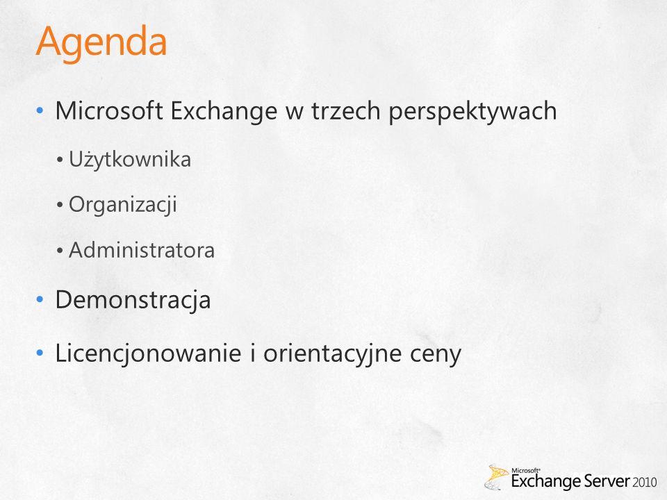 Ułatwione zarządzanie Konsola Exchange Management ConsolePowłoka Exchange Management Shell