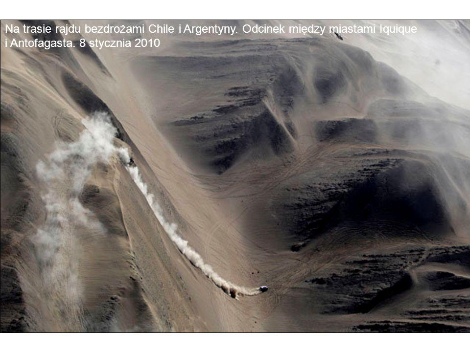 Na trasie rajdu bezdrożami Chile i Argentyny. Odcinek między miastami Iquique i Antofagasta. 8 stycznia 2010