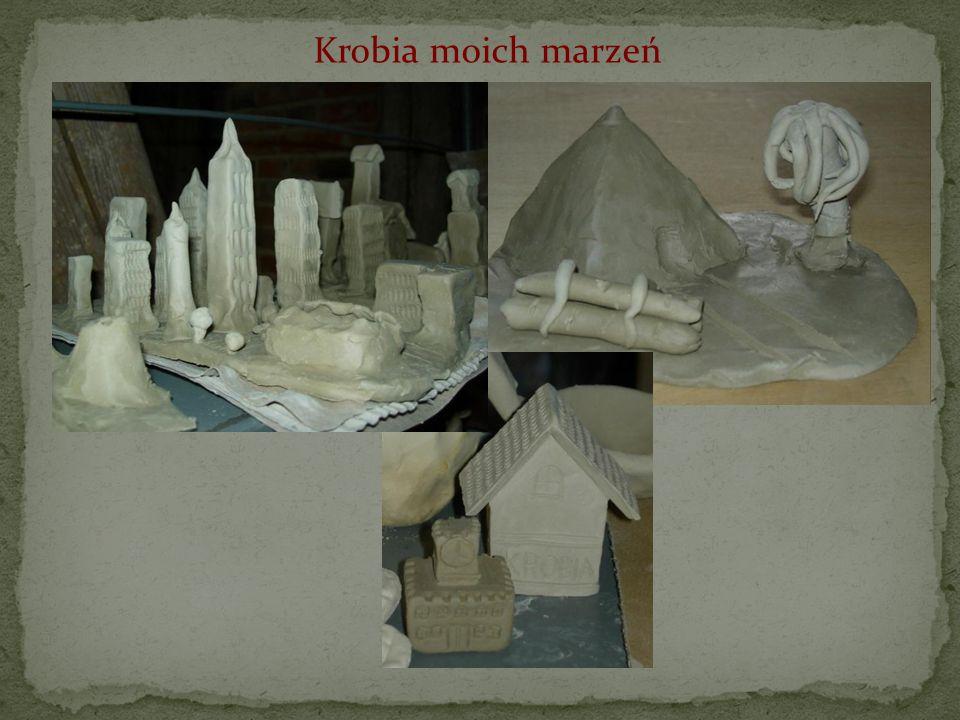 Nasze prace z gliny wypalane były w trzech rodzajach pieców: ceramicznym, papierowym i elektrycznym.