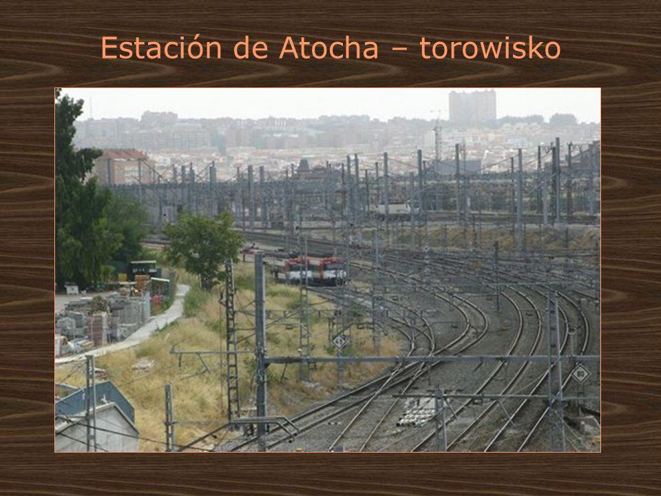 Estación de Atocha – torowisko