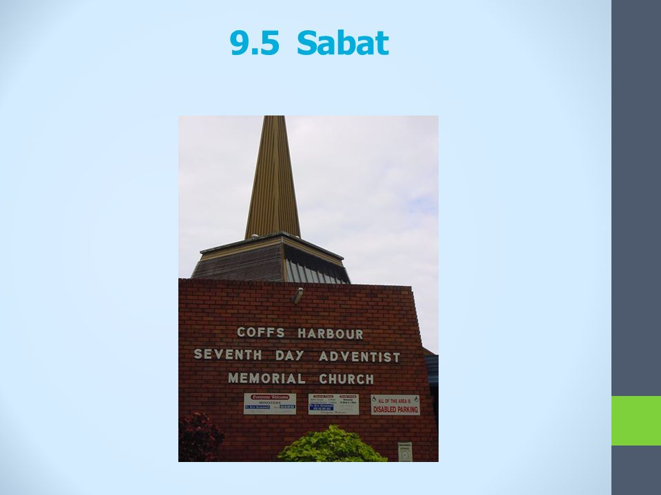 9.5 Sabat