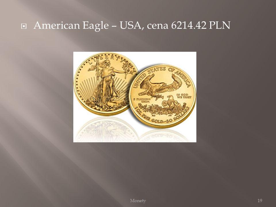 American Eagle – USA, cena 6214.42 PLN 19Monety