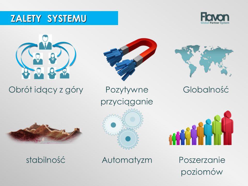 GlobalnośćObrót idący z góryPozytywne przyciąganie ZALETY SYSTEMU ZALETY SYSTEMU stabilnośćPoszerzanie poziomów Automatyzm