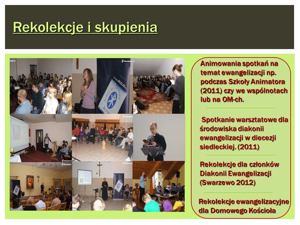 Spotkanie warsztatowe dla środowiska diakonii ewangelizacji w diecezji siedleckiej. (2011) Spotkanie warsztatowe dla środowiska diakonii ewangelizacji