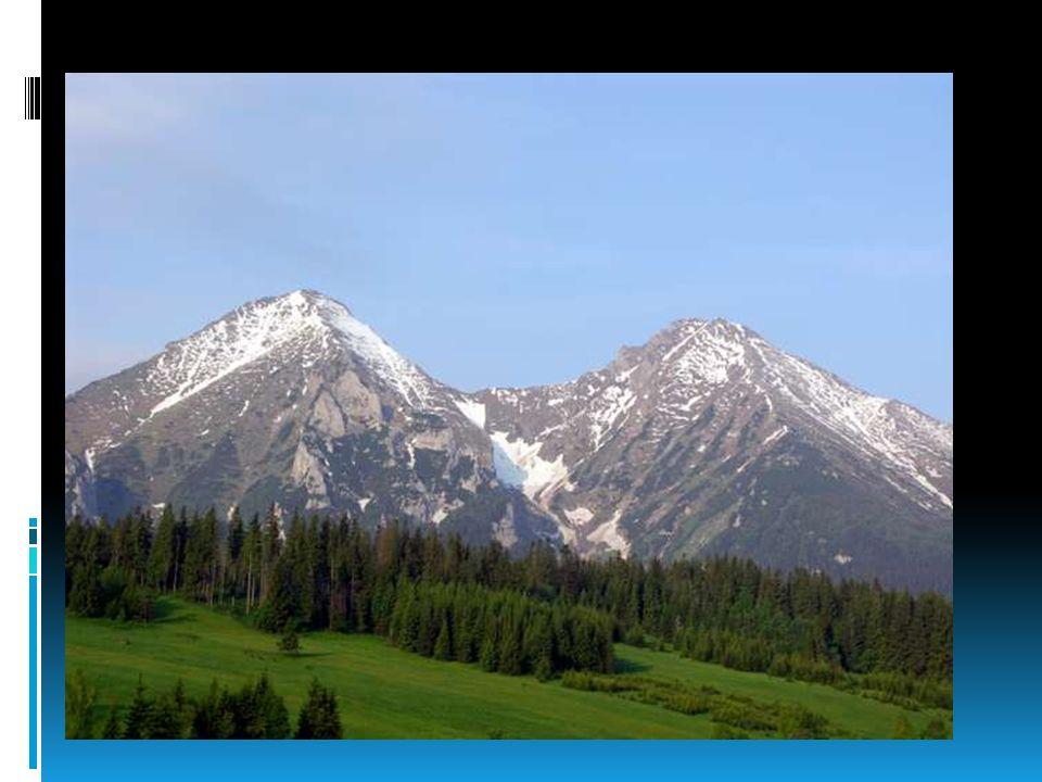 Tatry Zachodnie – najwyższy szczyt: Bystra (2248 m), po polskiej stronie: Starorobociański Wierch (2176 m) Niekiedy z Tatr Zachodnich wydzielany jest Masyw Siwego Wierchu (1805 m), położony w całości na terenie Słowacji.