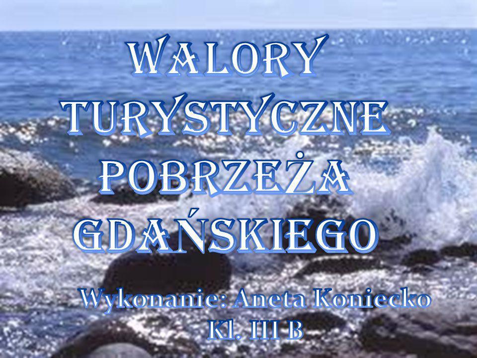 POBRZE Ż E GDA Ń SKIE Pobrzeże Gdańskie jest położone we wschodniej części Pobrzeży Południowobałtyckich otaczając półkoliście Zatokę Gdańską na południe od linii łączącej przylądek Rozewie na zachodzie z półwyspem Sambijskim na wschodzie.
