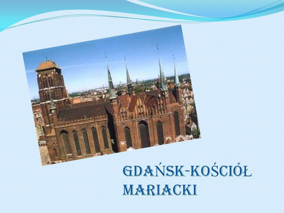 GDA Ń SK-Ko Ś ció Ł MAriacki