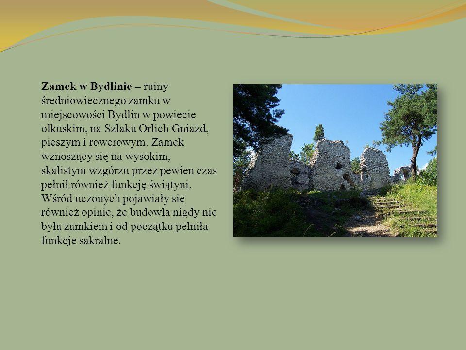 Zamek w Bydlinie – ruiny średniowiecznego zamku w miejscowości Bydlin w powiecie olkuskim, na Szlaku Orlich Gniazd, pieszym i rowerowym. Zamek wznoszą