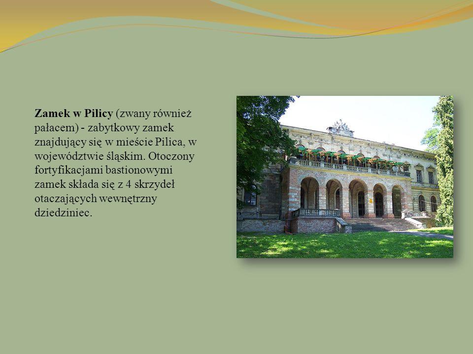 Zamek w Pilicy (zwany również pałacem) - zabytkowy zamek znajdujący się w mieście Pilica, w województwie śląskim. Otoczony fortyfikacjami bastionowymi