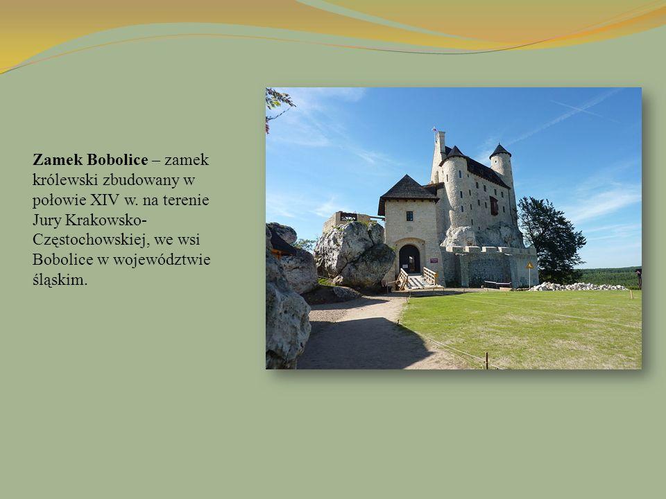 Zamek Bobolice – zamek królewski zbudowany w połowie XIV w. na terenie Jury Krakowsko- Częstochowskiej, we wsi Bobolice w województwie śląskim.