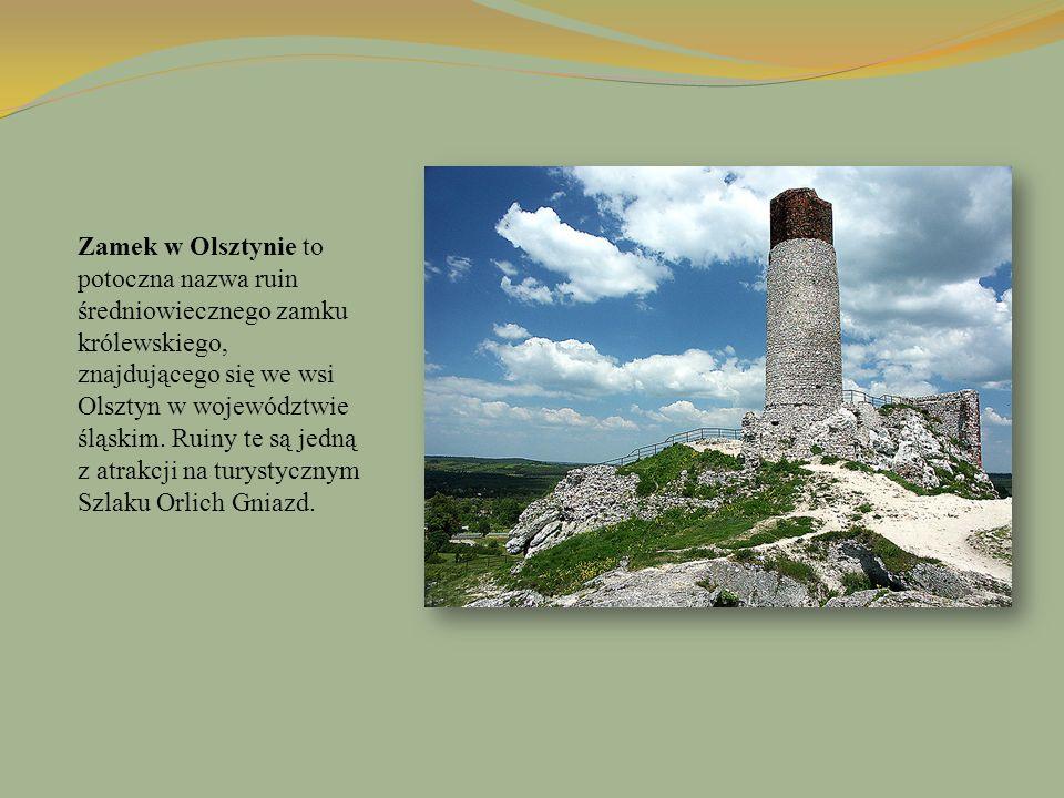 Zamek w Olsztynie to potoczna nazwa ruin średniowiecznego zamku królewskiego, znajdującego się we wsi Olsztyn w województwie śląskim. Ruiny te są jedn