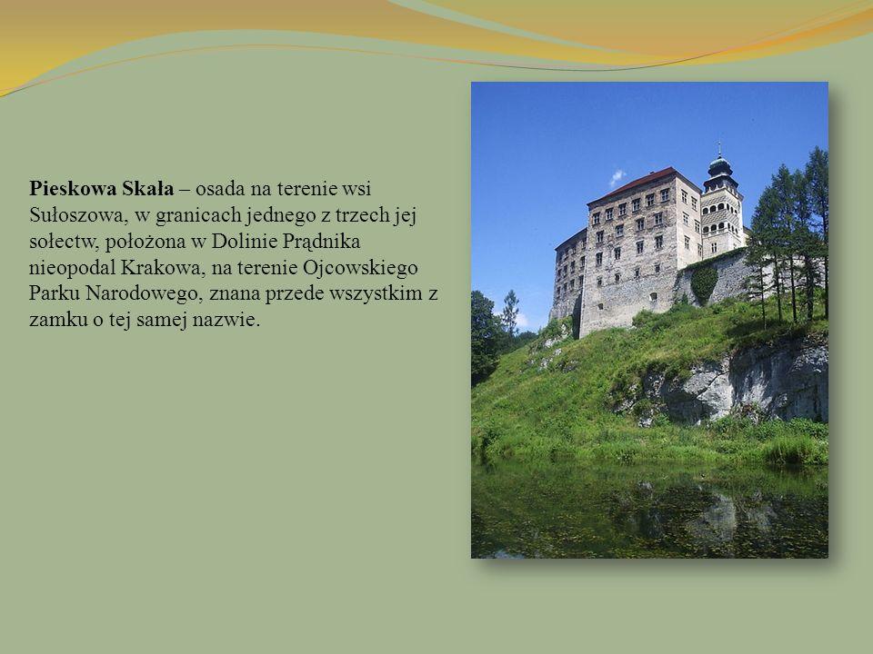 Pieskowa Skała – osada na terenie wsi Sułoszowa, w granicach jednego z trzech jej sołectw, położona w Dolinie Prądnika nieopodal Krakowa, na terenie O