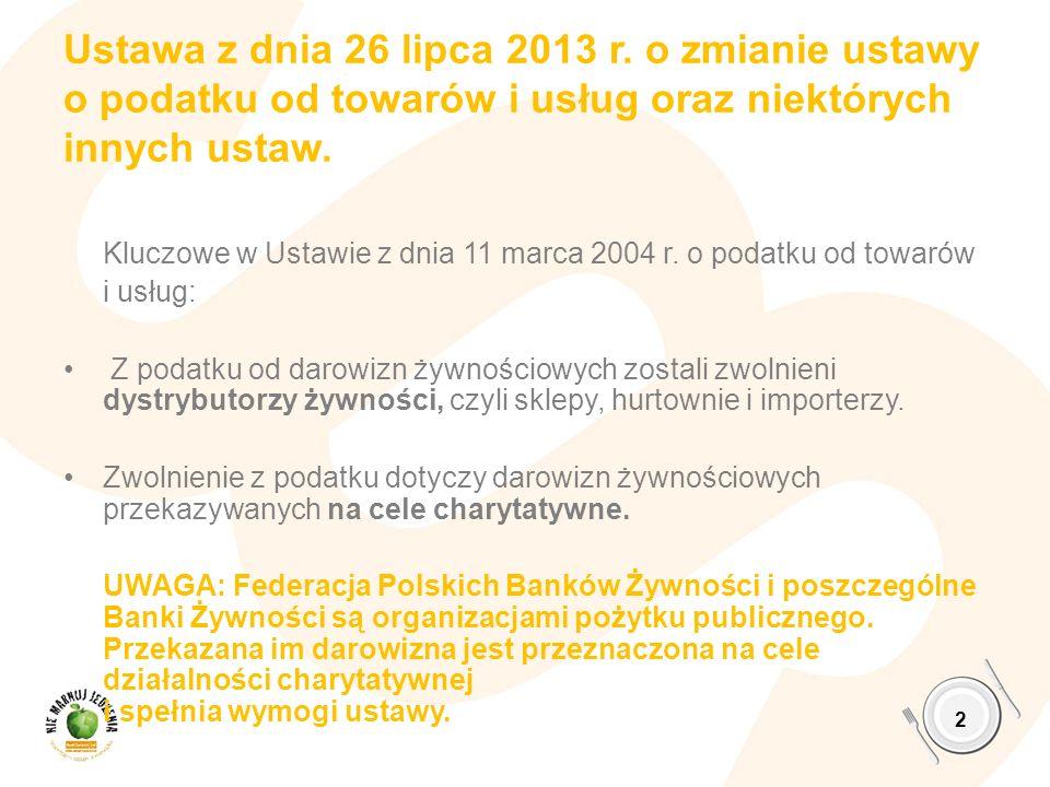 6,7% - osób żyje poniżej granicy skrajnego ubóstwa w Polsce GUS 2013 13 GRUPA SPOŁECZNA ZAGROŻENIE UBÓSTWEM SKRAJNYM osoby utrzymujące się z niezarobkowych źródeł pomocy społecznej innej niż emerytury i renty 30 % gospodarstwa domowe utrzymujące się z najemnej nisko płatnej pracy 9,5% Bezrobocie – 1 osoba bez pracy w gospodarstwie domowym 13% Bezrobocie – 2 osoby bez pracy w gospodarstwie domowym 33% Rodziny wielodzietne – 4 i więcej dzieci 27% Zmiana struktury ubóstwa w Polsce: