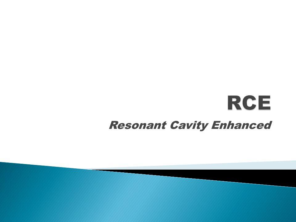 Resonant Cavity Enhanced