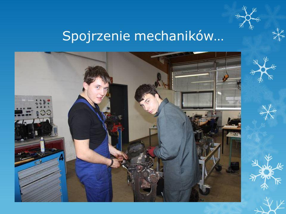 Spojrzenie mechaników…