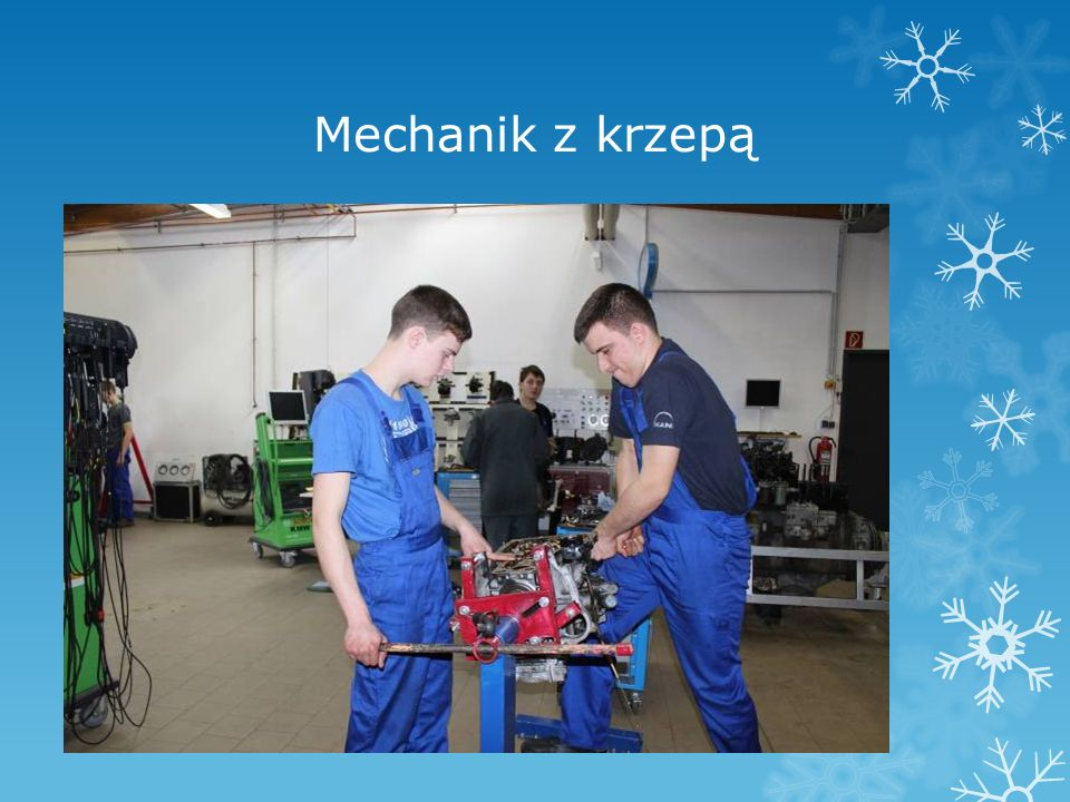 Mechanik z krzepą