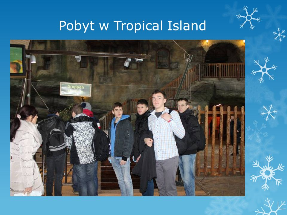 Pobyt w Tropical Island