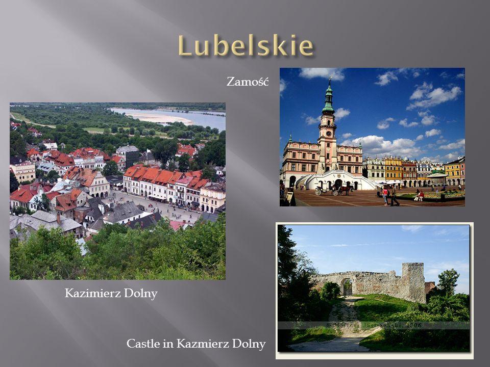 Kazimierz Dolny Zamość Castle in Kazmierz Dolny