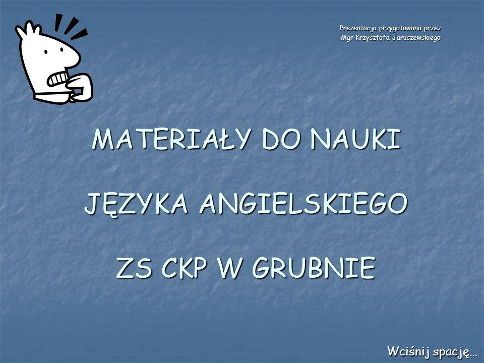 JECHAĆ KONNO/ROWEREM RIDE – RODE - RIDDEN /rajd – rołd – rydyn/ Wciśnij spację…