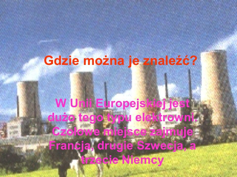 zalety: -nie zanieczyszczają powietrza -jest to tani sposób uzyskiwania energii, gdyż jedna ruda uranu może zastąpić kilkadziesiąt wagonów węgla. wady