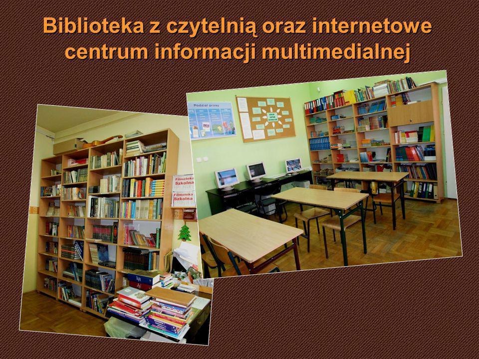 Biblioteka z czytelnią oraz internetowe centrum informacji multimedialnej