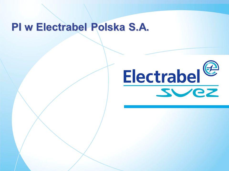 PI w Electrabel Polska S.A. slajd 1 PI w Electrabel Polska S.A. PI w Electrabel Polska S.A.