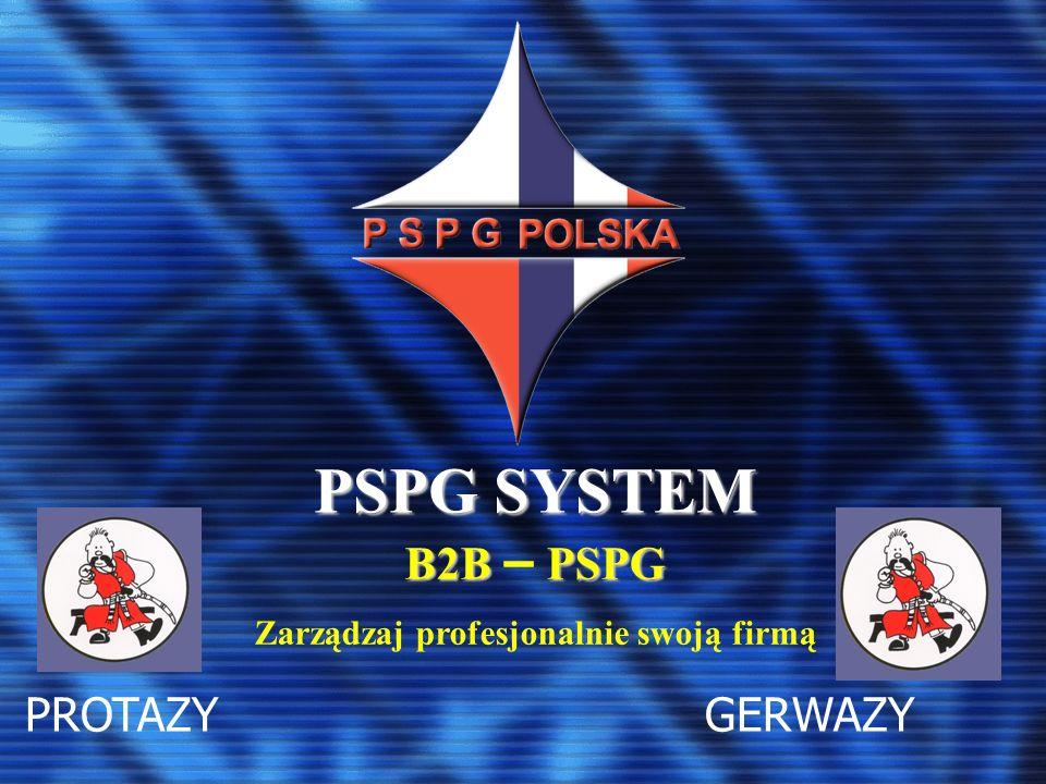 PSPG SYSTEM PROTAZY GERWAZY B2BPSPG B2B – PSPG Zarządzaj profesjonalnie swoją firmą