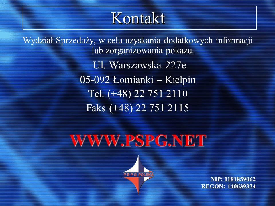 Kontakt Wydział Sprzedaży, w celu uzyskania dodatkowych informacji lub zorganizowania pokazu. Ul. Warszawska 227e 05-092 Łomianki – Kiełpin Tel. (+48)