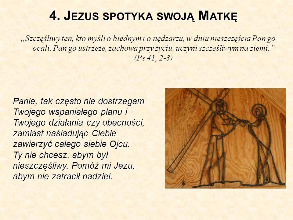 5.S ZYMON Z C YRENY POMAGA NIEŚĆ KRZYŻ J EZUSOWI.