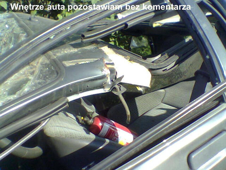 … ale zdarzył się cud.Kobieta przeżyła i wyszła z tego wypadku bez większych obrażeń.
