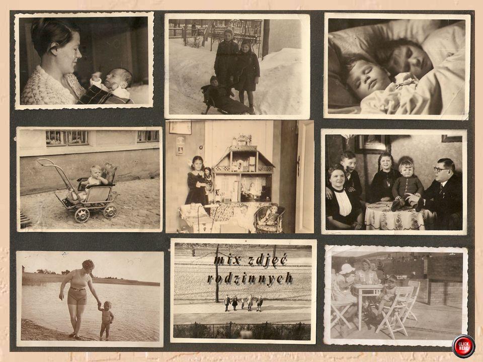 W listopadzie 1942 dołączyła do rodziny siostra Gizela Trójka rodzeństwa z ukochaną mamusią Uli z Gizelą
