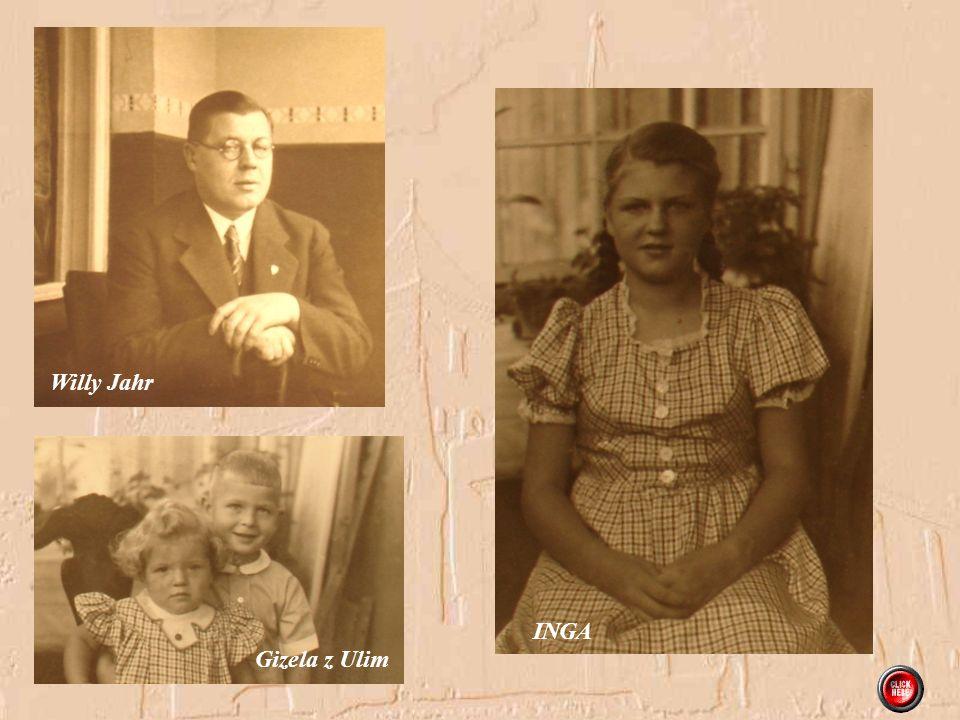 Inga z mamą, babcią i dziadkiem Steinborn Gizela i Uli
