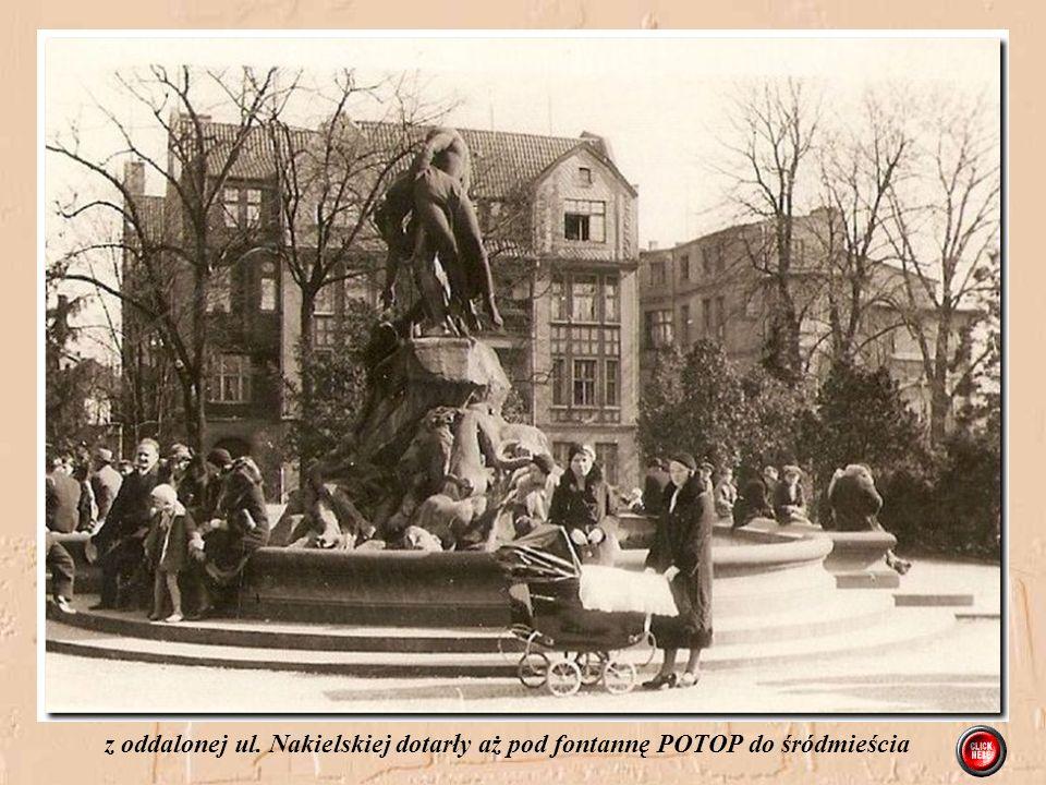 Na jednym z pierwszych spacerów mama z Ingą w towarzystwie cioci Trudy Jahr Pierworodna córka Inga przyszła na świat 30.12.1931 witają Ją babcia Amali