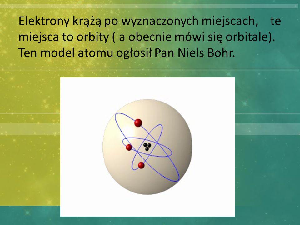Jeśli atomy tego samego rodzaju łącza się ze sobą powstają pierwiastki.