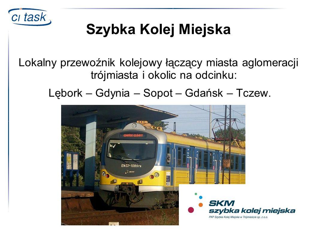 Szybka Kolej Miejska Lokalny przewoźnik kolejowy łączący miasta aglomeracji trójmiasta i okolic na odcinku: Lębork – Gdynia – Sopot – Gdańsk – Tczew.