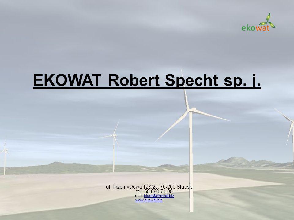 EKOWAT Robert Specht sp. j. ul. Przemysłowa 128/2c, 76-200 Słupsk tel. 58 690 74 09 mail: biuro@ekowat.bizbiuro@ekowat.biz www.ekowat.biz