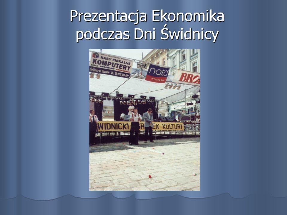 Prezentacja Ekonomika podczas Dni Świdnicy