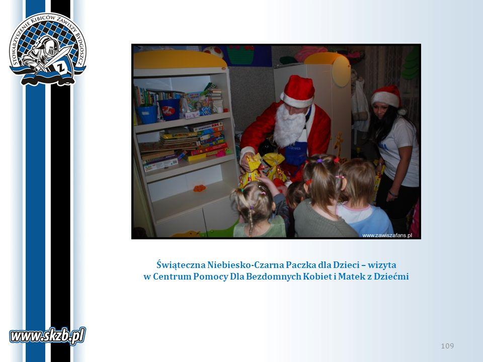 Świąteczna Niebiesko-Czarna Paczka dla Dzieci – wizyta w Centrum Pomocy Dla Bezdomnych Kobiet i Matek z Dziećmi 109