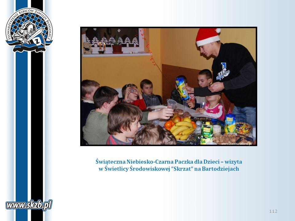 Świąteczna Niebiesko-Czarna Paczka dla Dzieci – wizyta w Świetlicy Środowiskowej