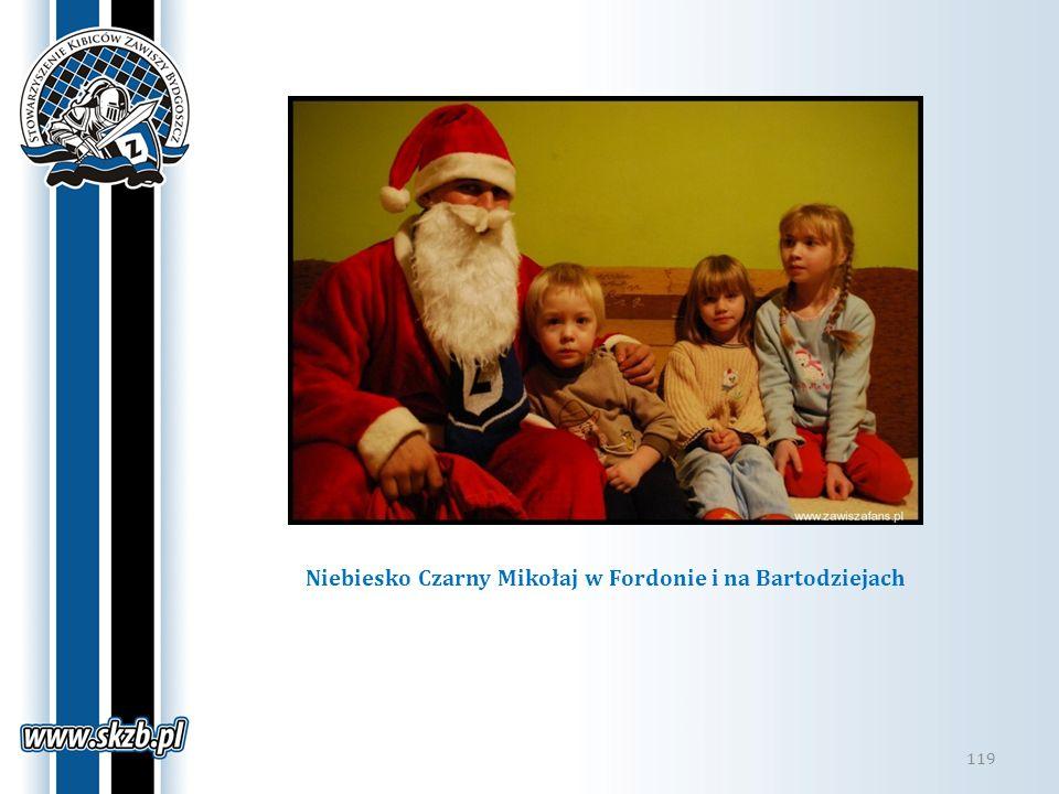 119 Niebiesko Czarny Mikołaj w Fordonie i na Bartodziejach