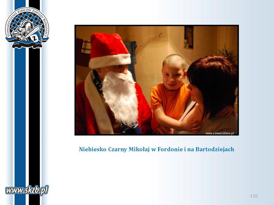 120 Niebiesko Czarny Mikołaj w Fordonie i na Bartodziejach