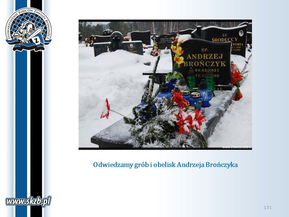 Odwiedzamy grób i obelisk Andrzeja Brończyka 131