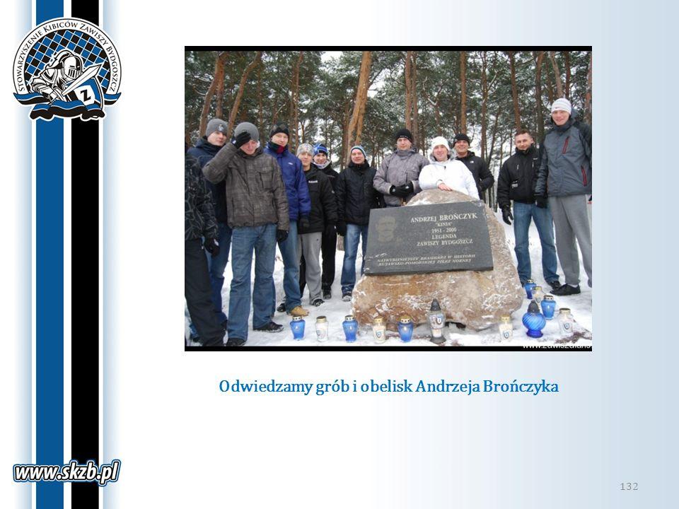 Odwiedzamy grób i obelisk Andrzeja Brończyka 132