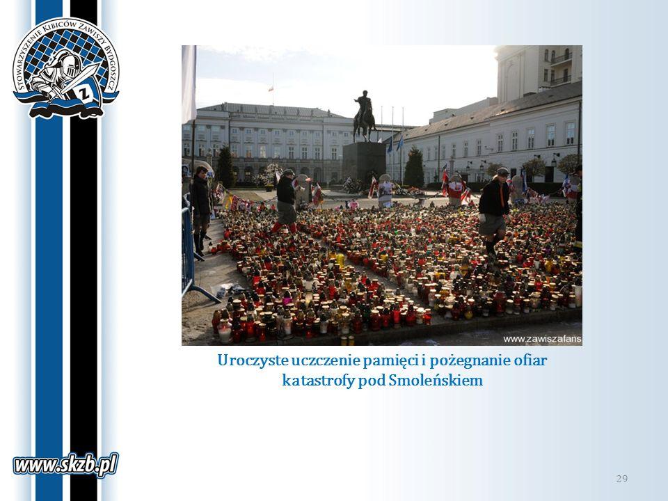 Uroczyste uczczenie pamięci i pożegnanie ofiar katastrofy pod Smoleńskiem 29